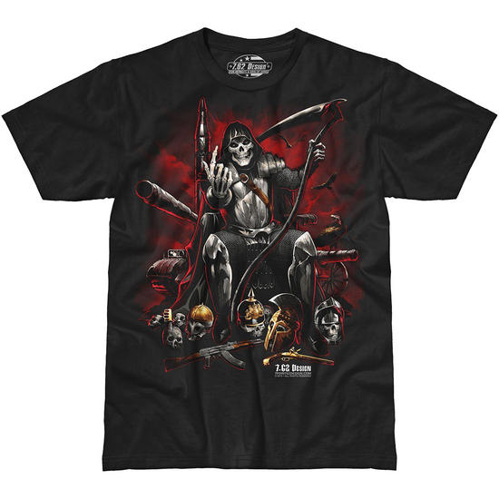 7.62 Design Warlord T-Shirt Black