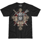7.62 Design Deus Vult T-Shirt Black