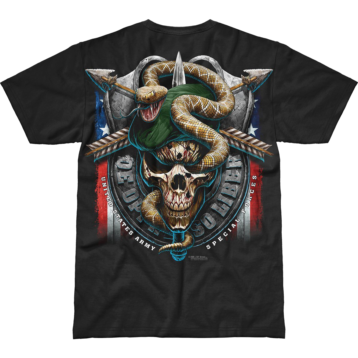 Design Army Special Forces Green Beret Battlespace T