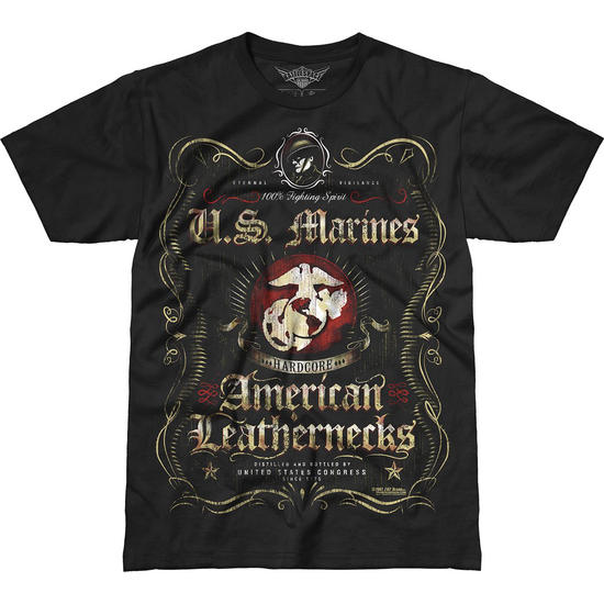 7.62 Design USMC Fighting Spirit Battlespace T-Shirt Black