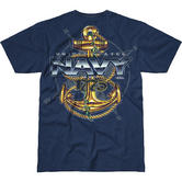 7.62 Design USN Compass Battlespace T-Shirt Navy