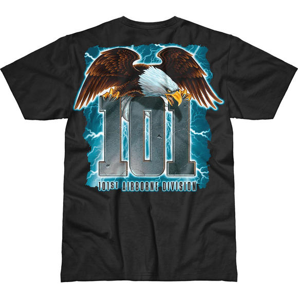 7.62 Design Army 101st Airborne Screaming Eagle Battlespace T-Shirt Black