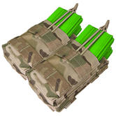 Condor Double Stacker M4/M16 Mag Pouch MultiCam