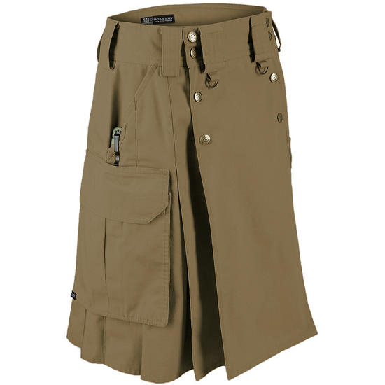 5.11 Tactical Duty Kilt Battle Brown