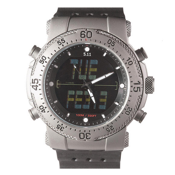 5.11 HRT Titanium Watch Black