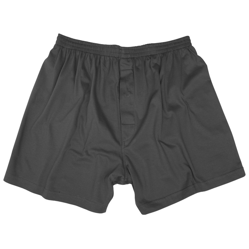 us military style mens army boxer shorts underwear base layer 100 cotton black ebay. Black Bedroom Furniture Sets. Home Design Ideas