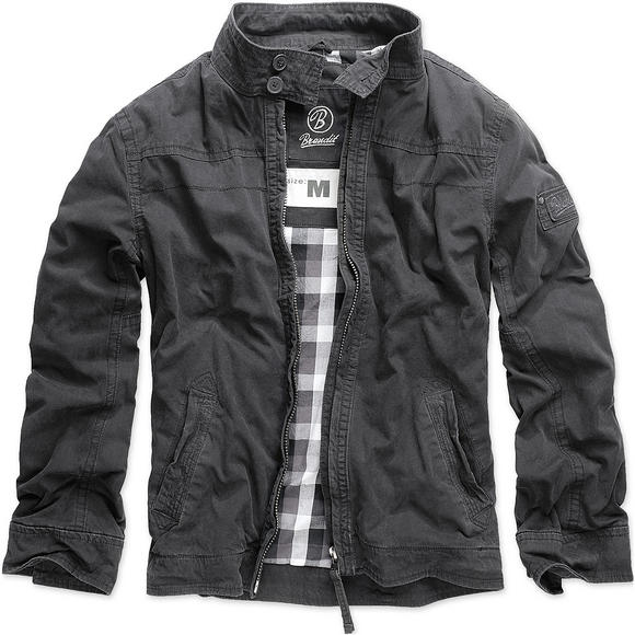 Brandit Yellowstone Jacket Black
