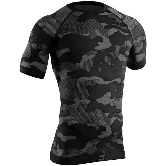 Tervel Optiline Tactical Shirt Short Sleeve Black / Grey