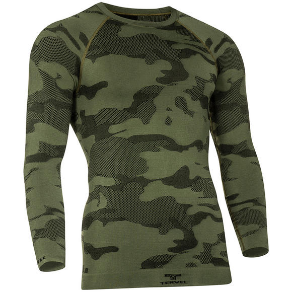 Tervel Optiline Light Tactical Stop Insect Shirt Long Sleeve Military / Black