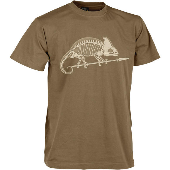 Helikon Chameleon Skeleton T-shirt US Brown