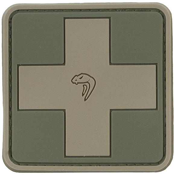Viper Medic Rubber Patch Green