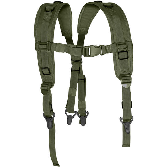 Viper Locking Harness Green