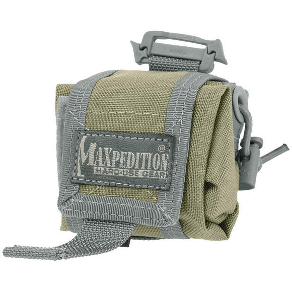 Maxpedition Mini Rollypoly Folding Dump Pouch Khaki Foliage