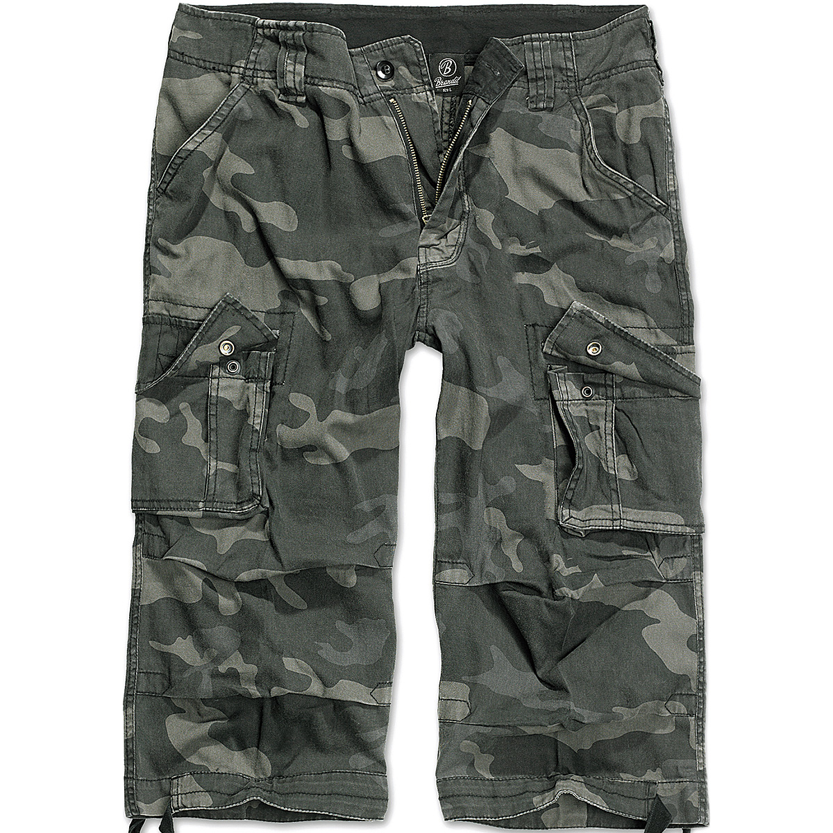 Brandit Urban Legend 3/4 Shorts Mens Paintball Pants Airsoft Cargos Dark Camo