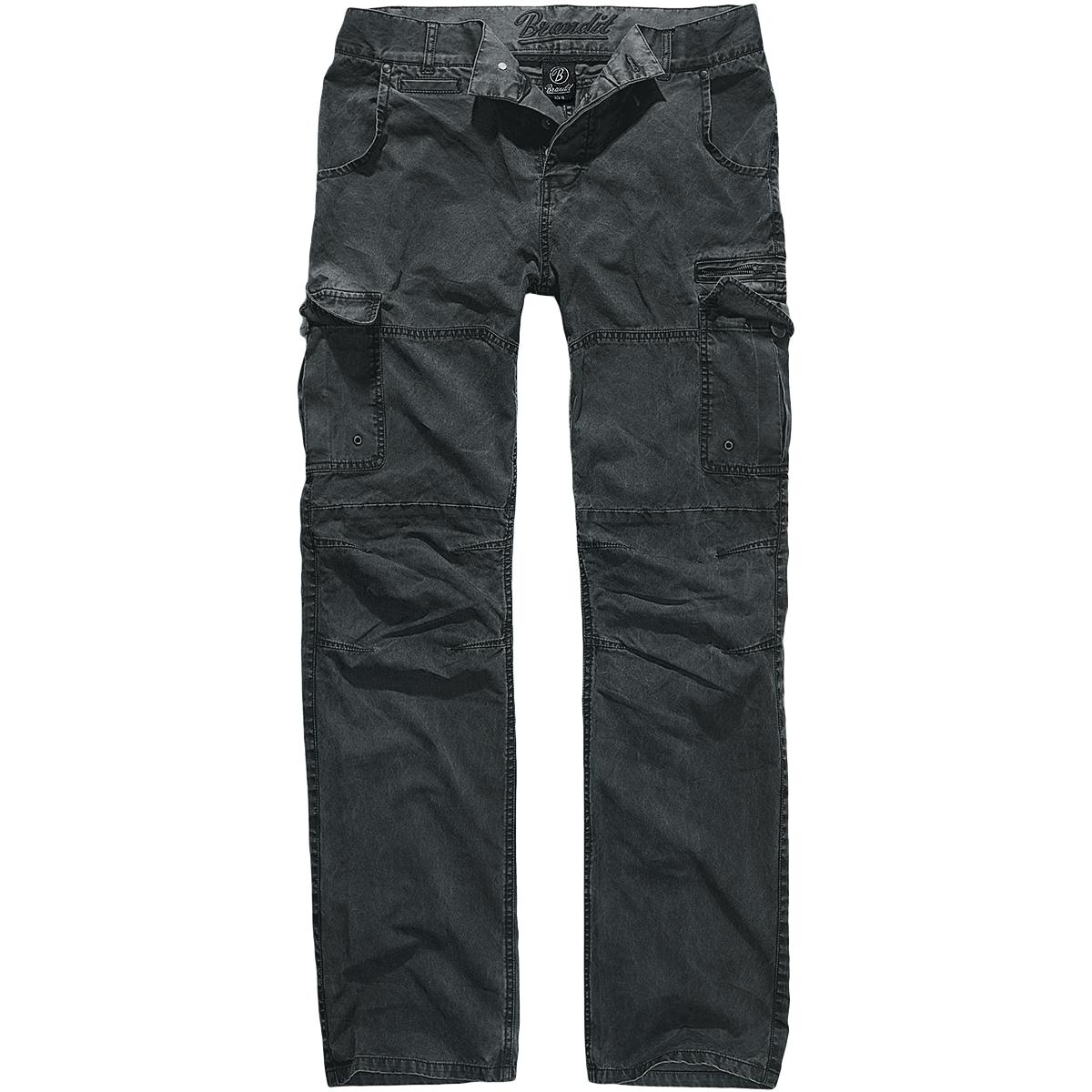 Brandit Mens Heavy Cotton Combat Trousers Security Work Cargo ...