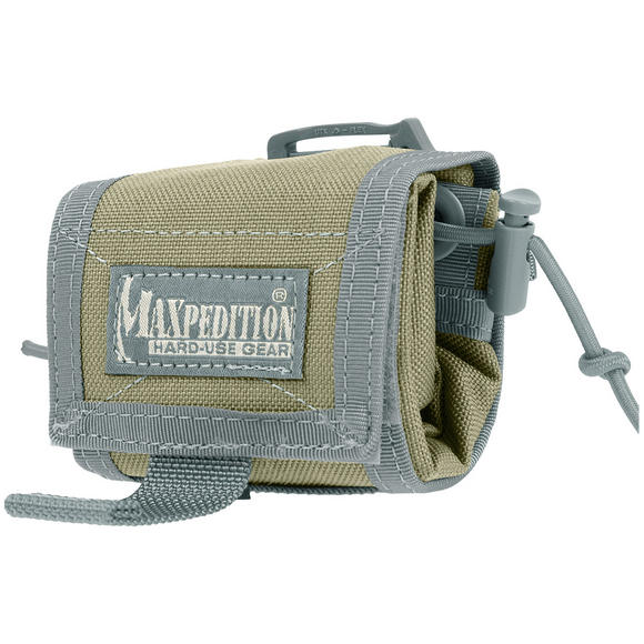 Maxpedition Rollypoly Folding Dump Pouch Khaki Foliage