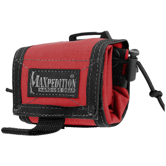 Maxpedition Rollypoly Folding Dump Pouch Fire-EMS Red