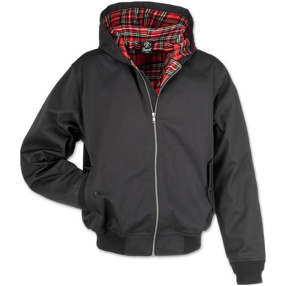 Brandit Lord Canterbury Hooded Jacket Black