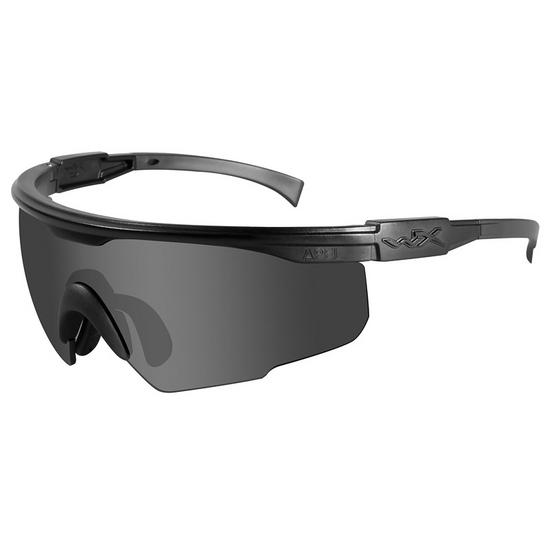 Wiley X PT-1 Glasses - Smoke Grey Lens / Matte Black Frame
