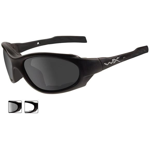Wiley X XL-1 Advanced - Smoke Grey + Clear Lens / Matte Black Frame