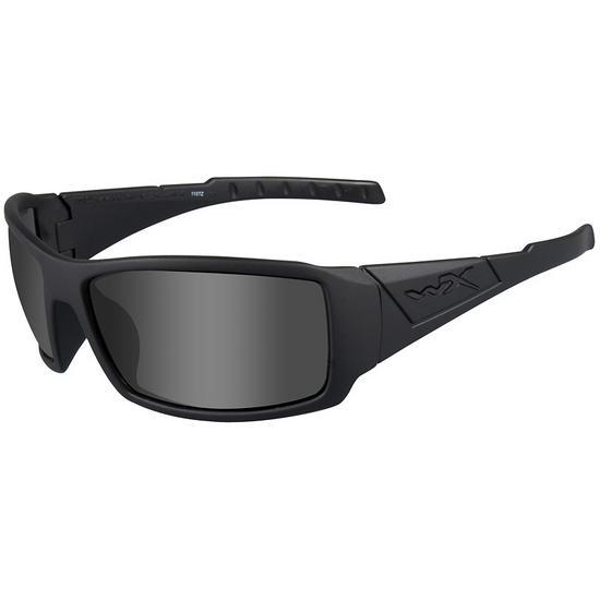Wiley X WX Twisted Glasses - Black Ops Smoke Grey Lens / Matte Black Frame