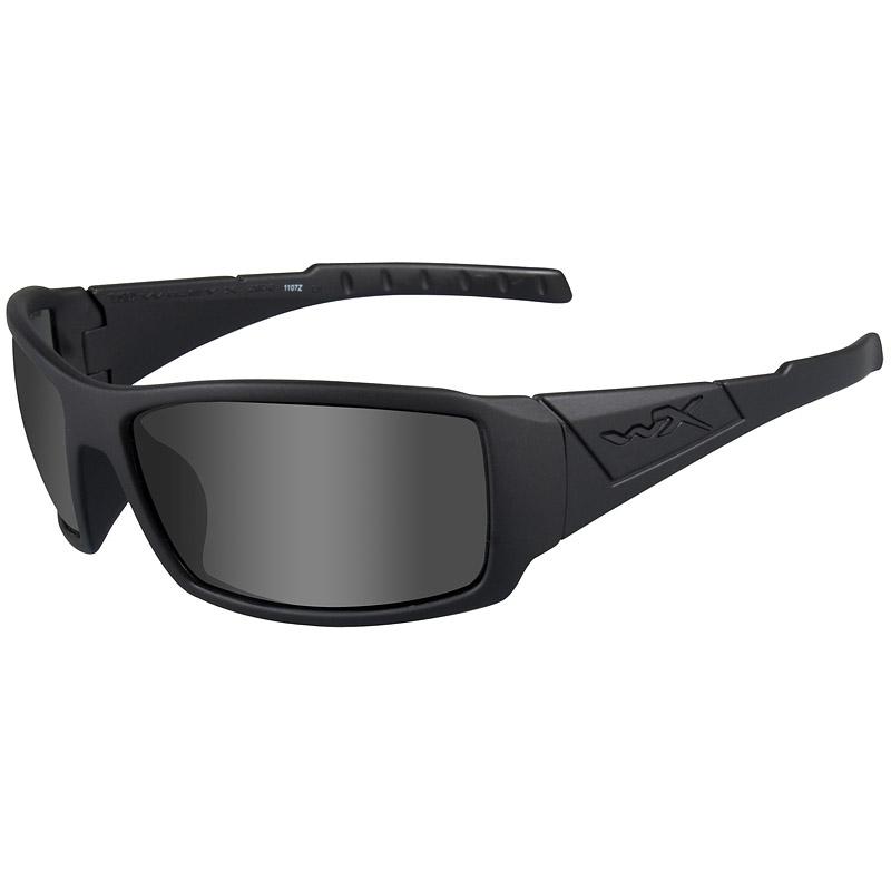 Matte Black Glasses Frame : WileyxWX Twisted Glasses - Black Ops Smoke Grey Lens ...