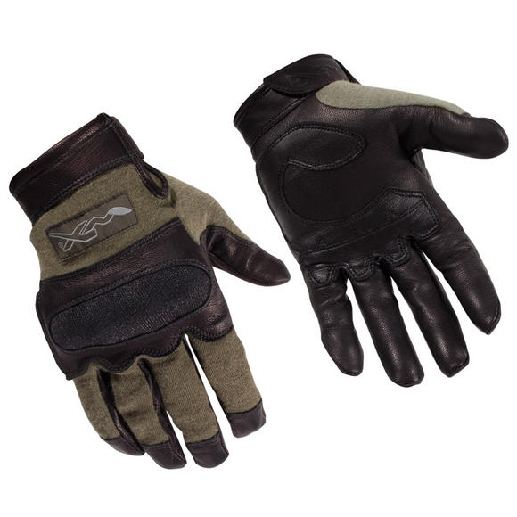 Wiley X Hybrid Gloves Foliage Green