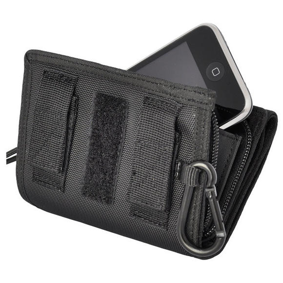 Hazard 4 Mil-iWallet iPhone Case Wallet Black