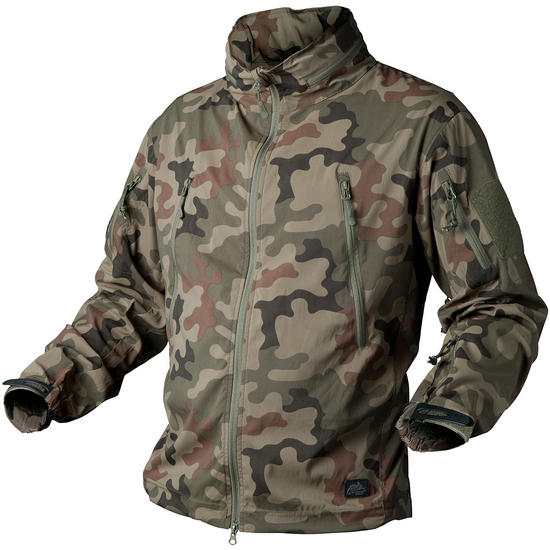 Helikon Trooper Soft Shell Jacket Polish Woodland
