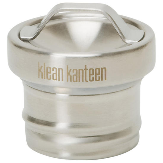 Klean Kanteen All Stainless Loop Cap Brushed Stainless