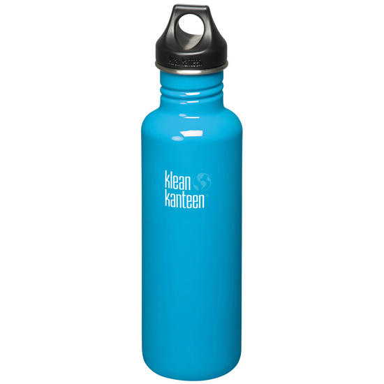 Klean Kanteen Classic 800ml Bottle with Loop Cap Channel Island
