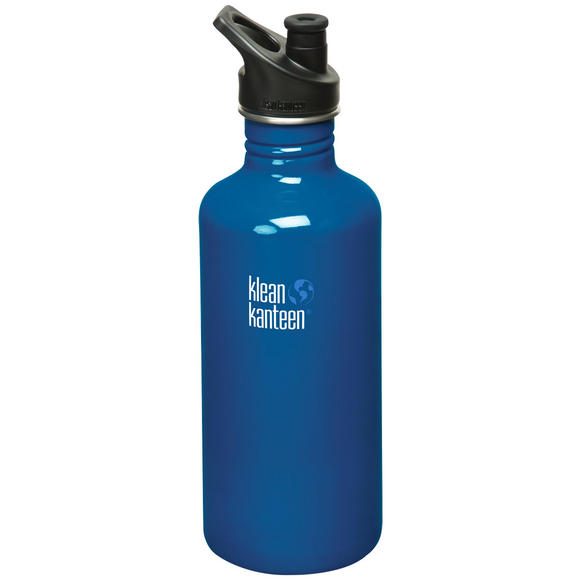 Klean Kanteen Classic 1182ml Bottle with Sport Cap Blue Planet