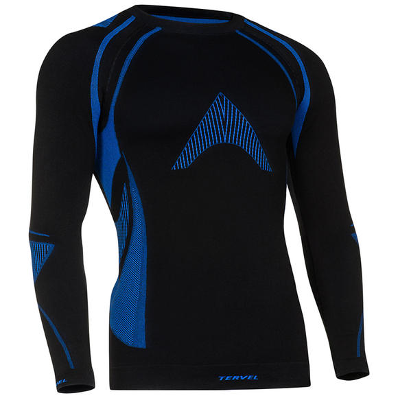 Tervel Optiline MOD-02 Shirt Long Sleeve Black / Blue