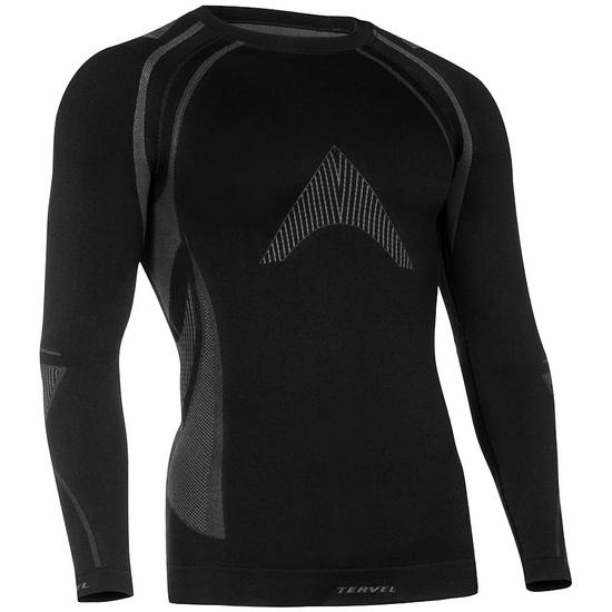 Tervel Optiline MOD-02 Shirt Long Sleeve Black / Grey