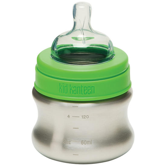 Kid Kanteen 148ml Baby Bottle Brushed Stainless