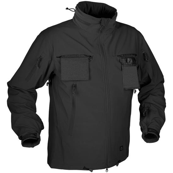Helikon Cougar Soft Shell Windblocker Jacket Black