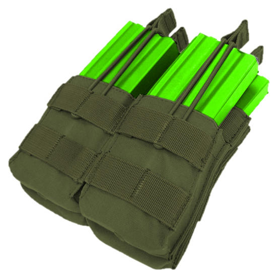 Condor Double Stacker M4/M16 Mag Pouch Olive Drab