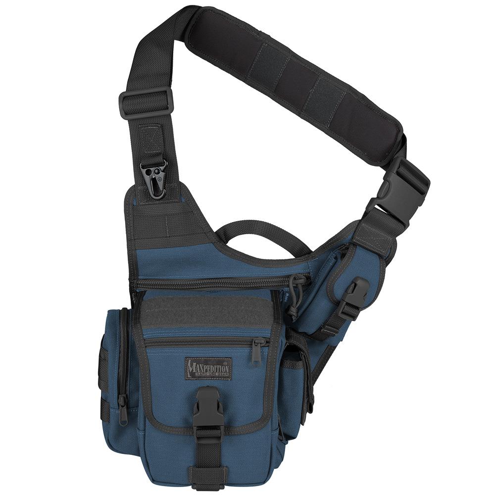 Maxpedition Fatboy Versipack Marine Shoulder Bag Army Sling Pack MOLLE Dark Blue | eBay