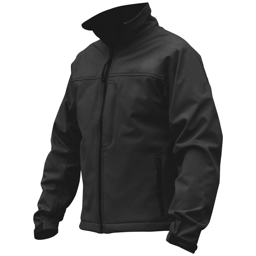Black Police Jacket