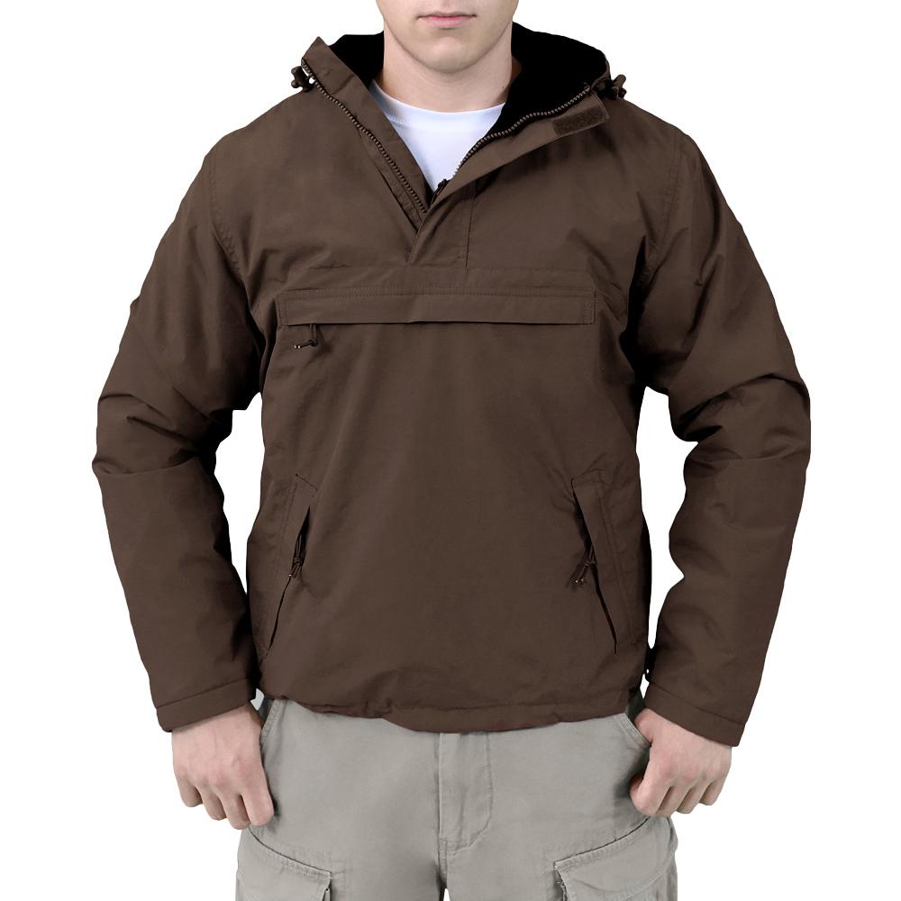 Surplus Windbreaker Breathable Water Repellent Hooded Jacket