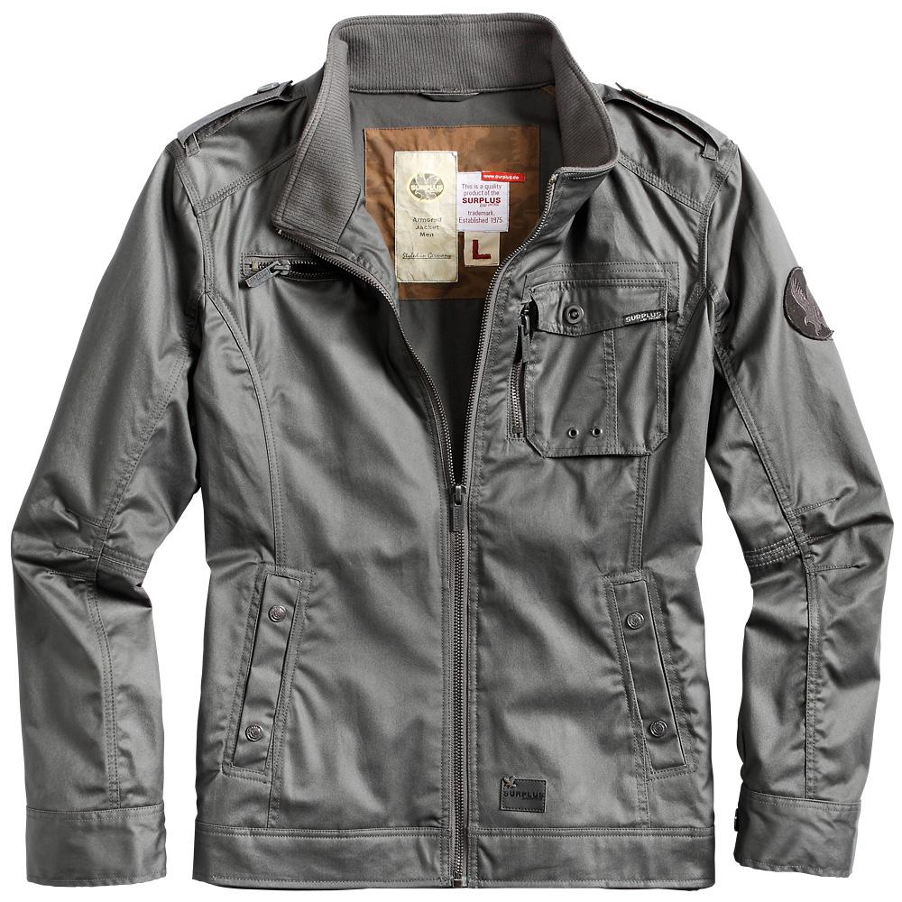 Mens jacket cotton - Surplus Tactical Armored Mens Biker Jacket Water Resistant