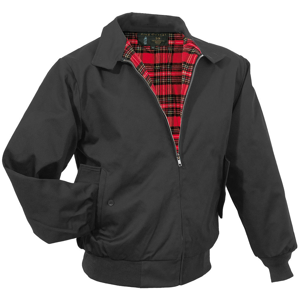 SURPLUS KING GEORGE 59 MENS JACKET CLASSIC ENGLISH HARRINGTON ...