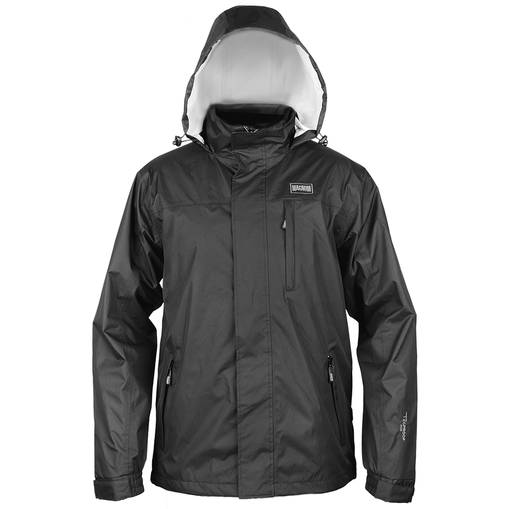 Magnum Dragon Waterproof Hooded Rain Jacket Windproof