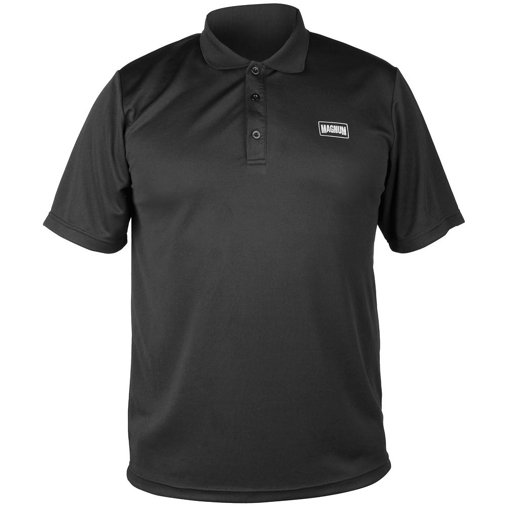 Magnum Erugo Mens Gym Duty Work Polo Collar Shirt Short