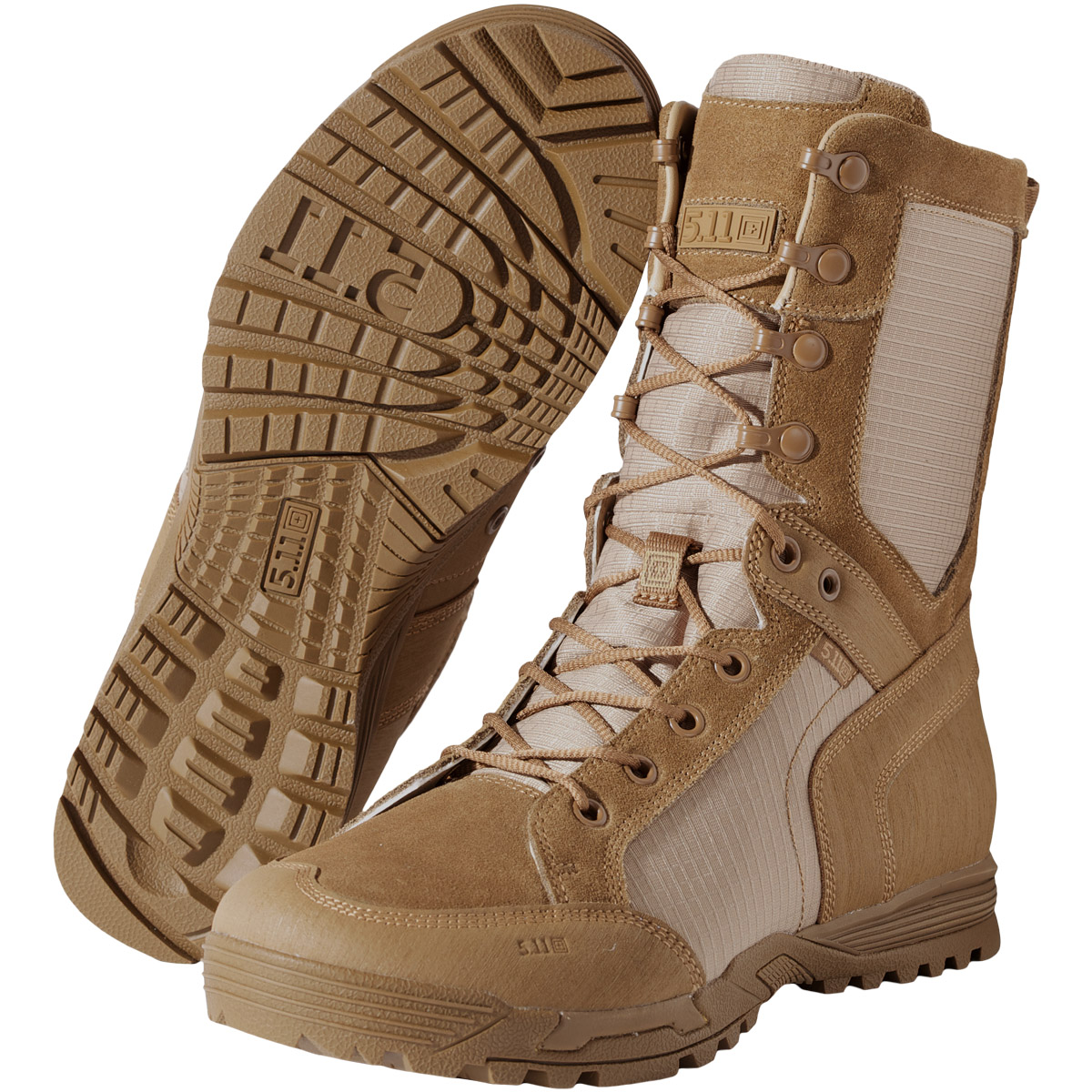 5.11 RECON DESERT MENS BOOTS MILITARY PATROL AIRSOFT HIKING FOOTWEAR DARK COYOTE