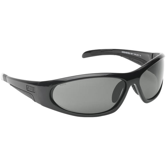 5.11 Ascend Sunglasses - Polarised Lens / Black Frame
