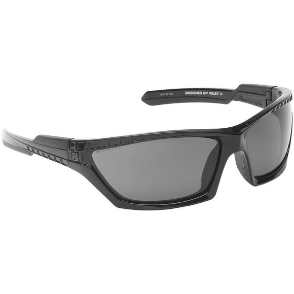 5.11 Cavu Full Frame Sunglasses - Polarized Lens / Black Frame