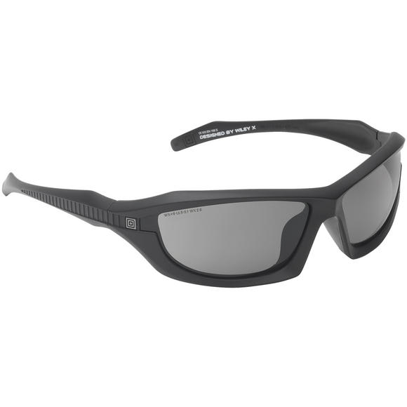 5.11 Burner Full Frame Sunglasses - Smoke Lens / Matte Black Frame