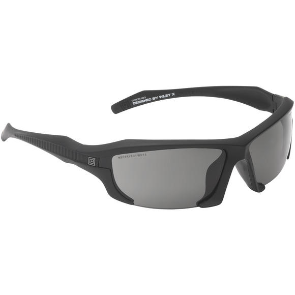 5.11 Burner Half Frame Sunglasses - 3 Lenses / Matte Black Frame