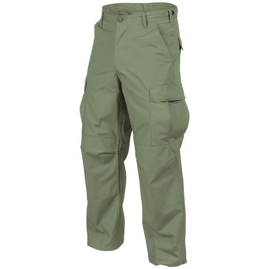 Helikon Genuine BDU Trousers Polycotton Twill Olive Green